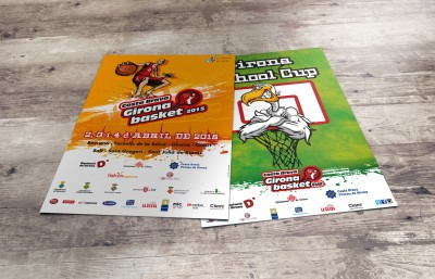 Cartells campus Costa Brava Girona Basket 2015
