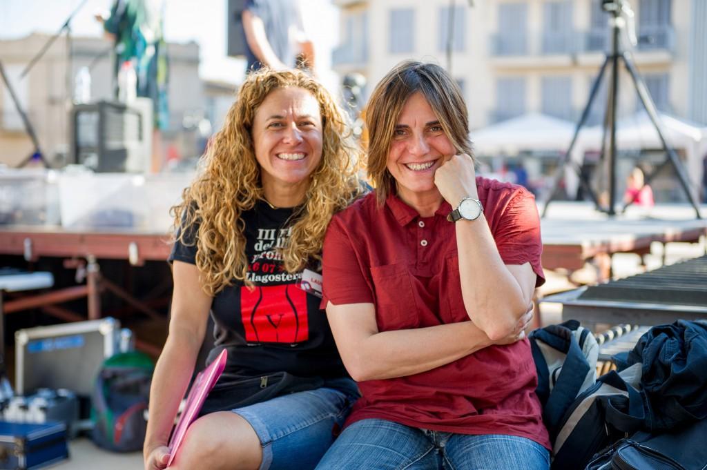 Laura Ensesa i Sílvia Comes