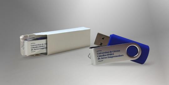Memòries USB per a la Càtedra FPdGi de Joves Emprenedors de la UdG